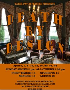 Death by Design Flyer