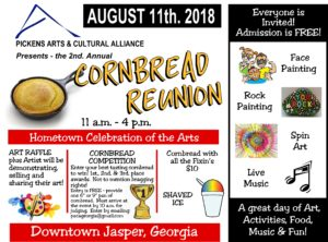 Cornbread Reunion Flyer 2018