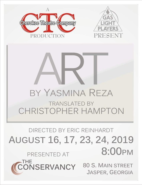 """Gaslight Players bring """"Art"""" to The Conservancy this Friday"""
